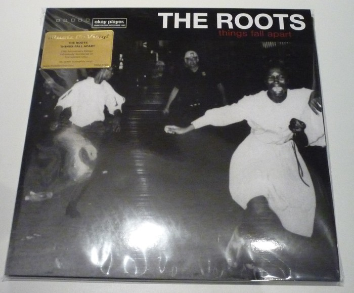 The Roots Things Fall Apart 2lp 180gram Limited Clear