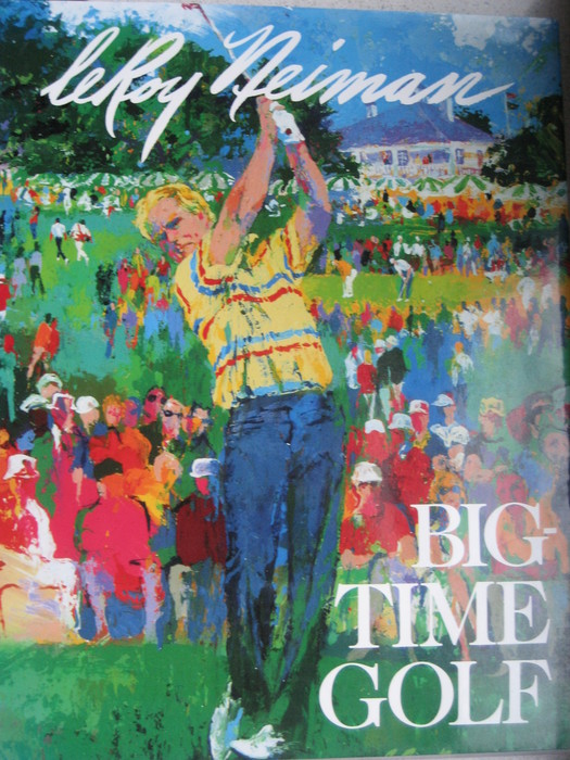 golf leroy neiman big time golf 1992 catawiki. Black Bedroom Furniture Sets. Home Design Ideas