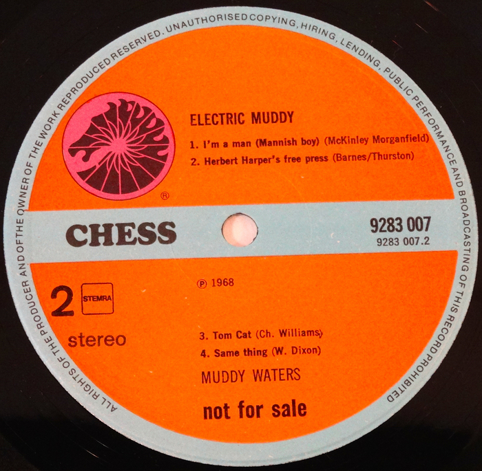 Muddy Waters Electric Muddy Lp Not For Sale