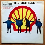 Check out our The Beatles - Help Dutch Shell Cover LP on Parlophone EMI Label