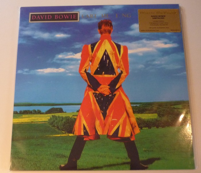 David Bowie Earthling Lp 180 Gram Audiophile Vinyl