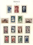 Check out our France 1950/1959 - Complete year collections - Yvert 863 through 1229