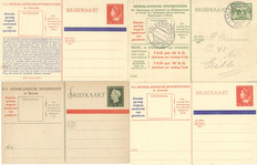 The Netherlands 1930/1955 - Collection of Railway postcards