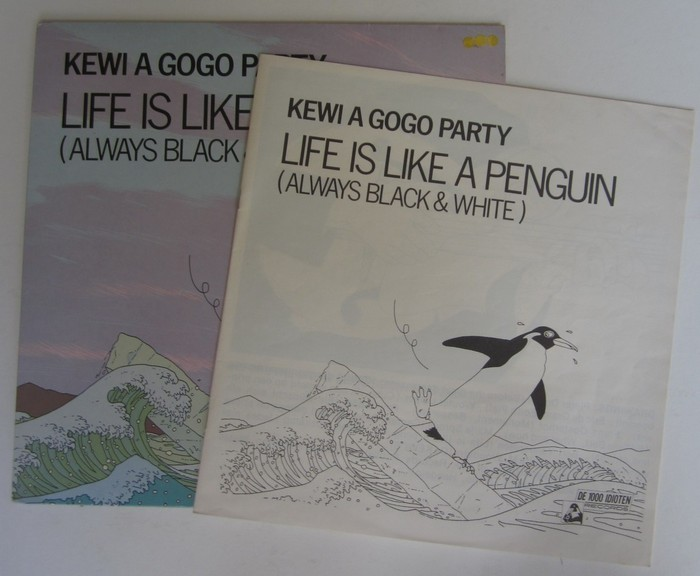 Kewi A Gogo Party - Life Is Like A Penguin (Always Black & White)