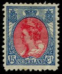 Check out our The Netherlands 1920 - Wilhelmina 'Fur Collar' type line perf 11 x 11½ - NVPH 65C, with certificate