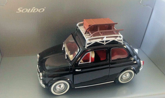 solido 1 18 scale fiat 500 with accessories catawiki. Black Bedroom Furniture Sets. Home Design Ideas