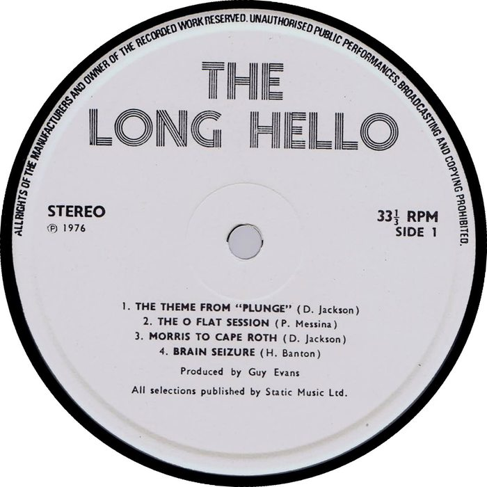 The Long Hello - LP = van der Graaf Generator (Not on ...