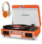 Check out our Crosley Cruiser Record player - Orange