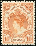 Check out our The Netherlands 1905 - Queen Wilhelmina type 'Fur Collar' - NVPH 80