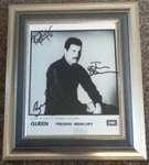 Check out our Freddie Mercury Official EMI Autographed Press Photo
