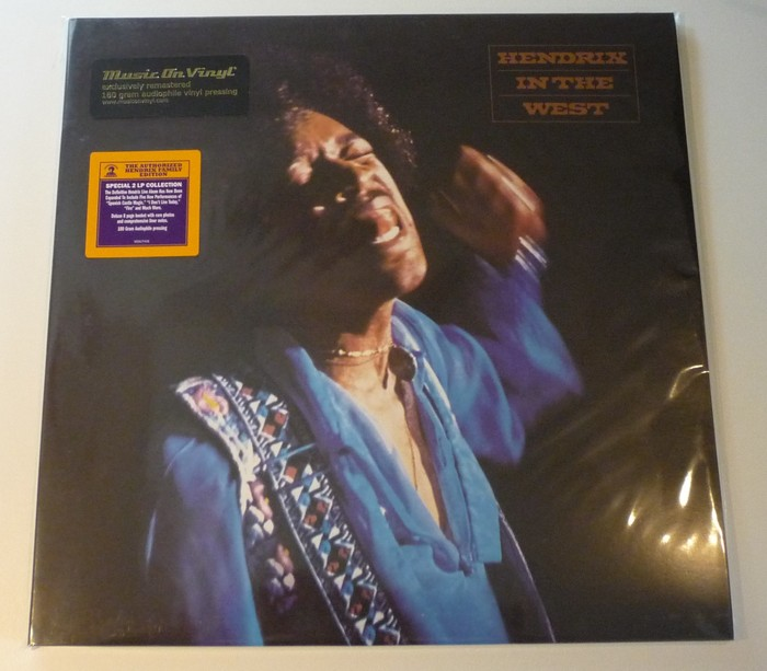 Jimi Hendrix Hendrix In The West 2lp 180 Gram