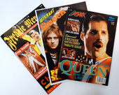 Check out our Lot of three (3) fantastic magazines: Hitkrant + Metal Attack poster specials + A kind of Magic tribute mag.