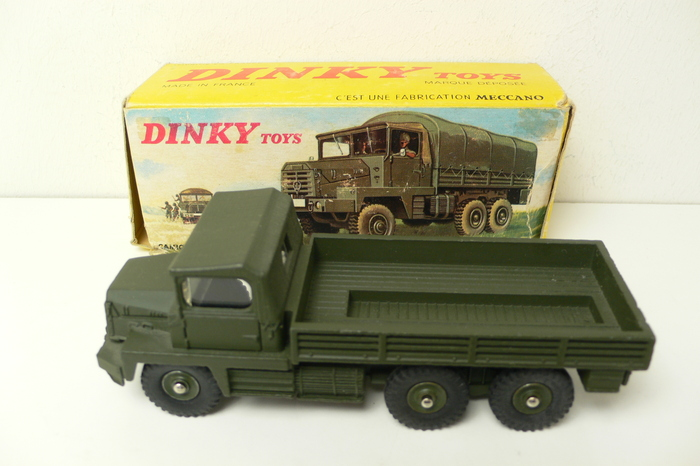 dinky toys 1 43 scale berliet military truck gazelle no 824 catawiki. Black Bedroom Furniture Sets. Home Design Ideas