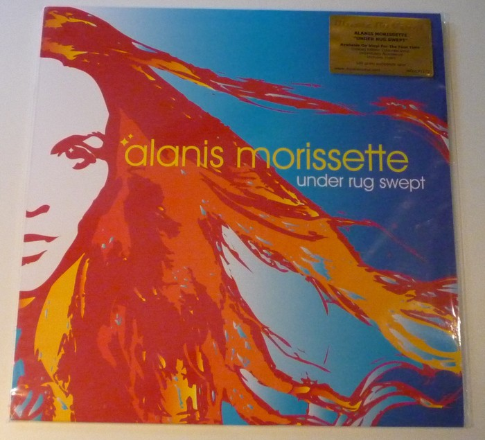 Alanis Morissette Under Rug Swept Limited Blue