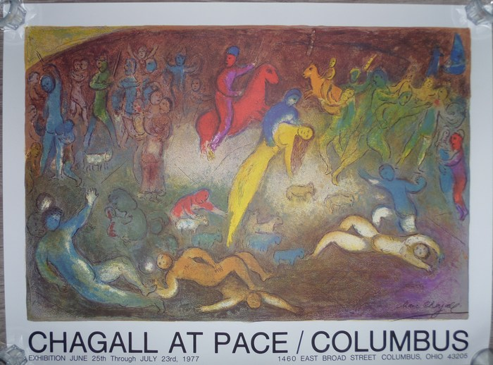 Kunst: Marc Chagall - 1977 Chagall Witte Kruisiging