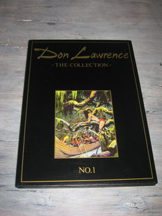 Don Lawrence - The collection 1 t/m 7 + Folder Don Lawrence expositie 1991 - hc - 1e druk - (1989 / 1995)
