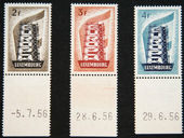 Check out our Luxembourg 1956 - CEPT - Michel 555/557