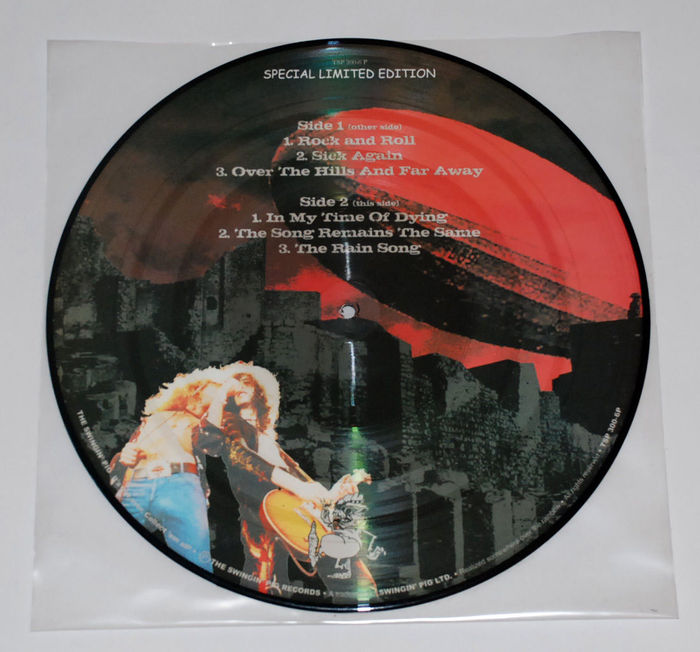 Led Zeppelin Picture Disc Madison Square Garden 1975 Catawiki