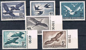 Check out our Austria 1950/1953 - Birds - Michel 955/956, 984/987