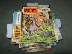 Karl May - 65x sc - (1967 / 1983) - zie omschrijving