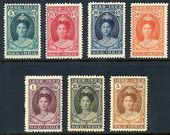 Check out our Dutch-Indies 1923 - Anniversary Queen Wilhelmina - NVPH 160/166