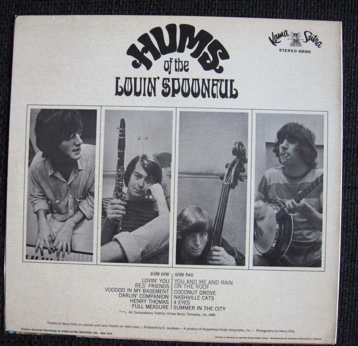 Lovin Spoonful Hums Of The Lovin Spoonful