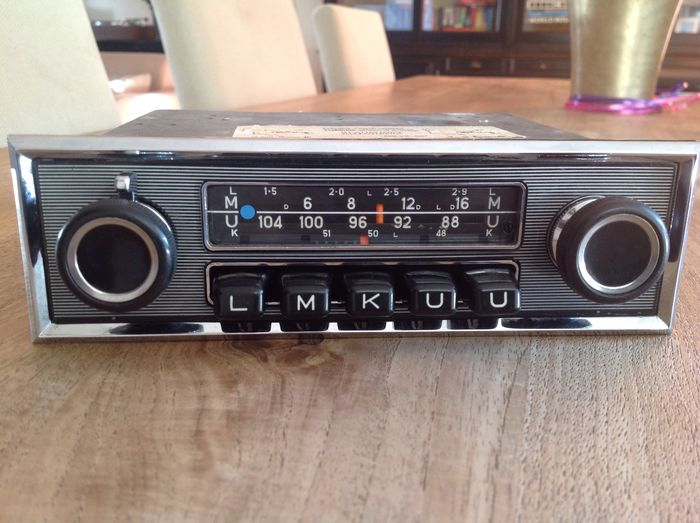 blaupunkt frankfurt classic car radio 1970 catawiki. Black Bedroom Furniture Sets. Home Design Ideas