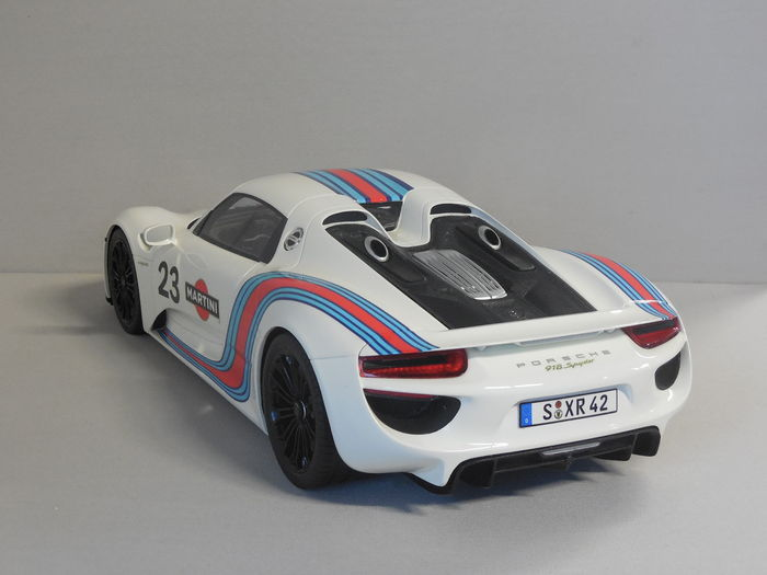 gt spirit schaal 1 12 porsche 918 spyder martini catawiki. Black Bedroom Furniture Sets. Home Design Ideas