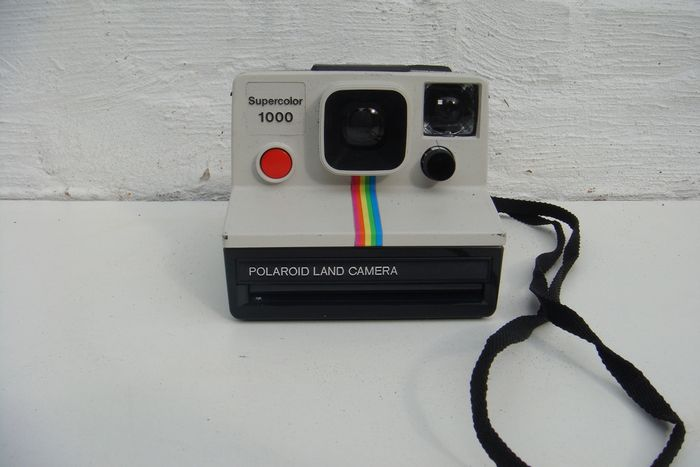 polaroid sx 70 land camera supercolor 1000 catawiki. Black Bedroom Furniture Sets. Home Design Ideas