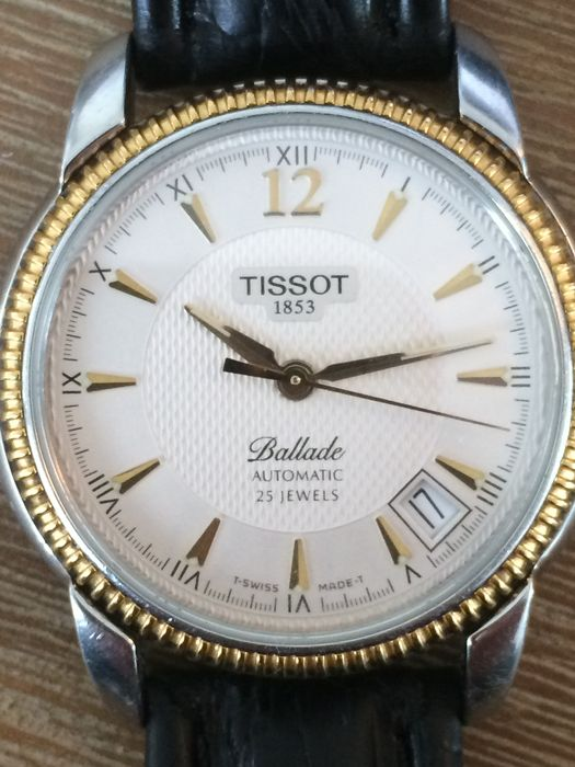 Tissot Ballade 25 Jewels automatic Womens