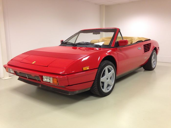 ferrari mondial quattrovalvole convertible 1985 catawiki. Black Bedroom Furniture Sets. Home Design Ideas