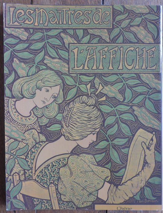 art nouveau lot met 4 uitgaven over affiches art nouveau toulouse lautrec 1977 1993 catawiki. Black Bedroom Furniture Sets. Home Design Ideas