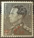 Check out our Belgium 1938 - King Leopold III - OBP 478-Cu 2.30 instead of 2.50