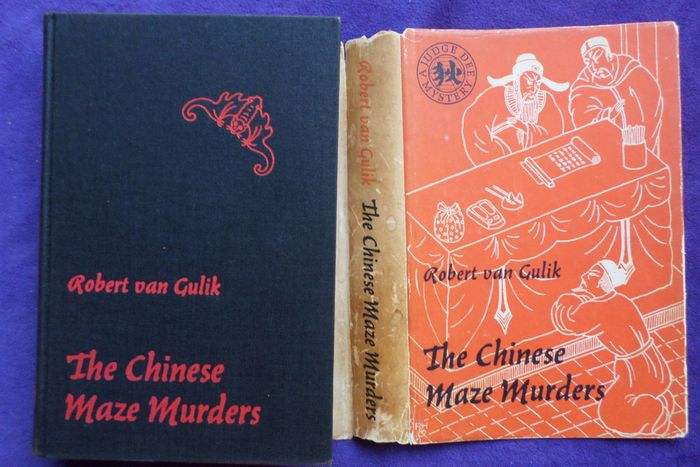 chinese maze murders Poisoned plums, a cryptic scroll picture, passionate love letters, and a hidden murderer with a penchant for torturing and killing women lead judge dee to the heart of the governor's garden maze and the answers to three interwoven mysteries.