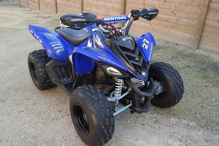 yamaha raptor 90 quad enfant avec beaucoup d 39 extras 2009 catawiki. Black Bedroom Furniture Sets. Home Design Ideas