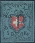 Check out our Switzerland 1850 - Rayon I - Michel 7 I