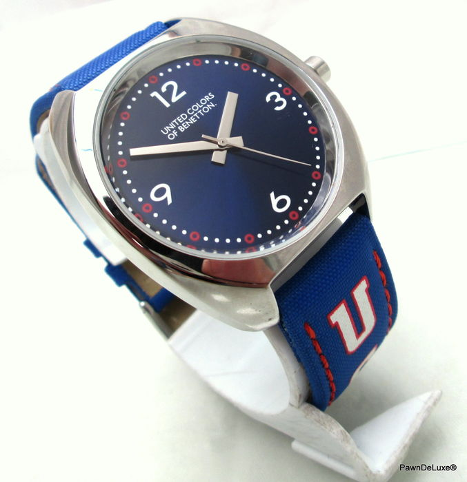 United colors of benetton special edition sports men 39 s wristwatch catawiki for Benetton watches
