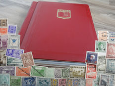 Southeastern Europe - Collection in stock book including Albania, Bulgaria and Yugoslavia