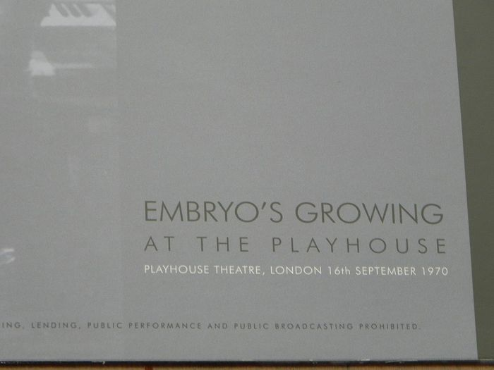 Pink Floyd - Embryo's Growing At The Playhouse