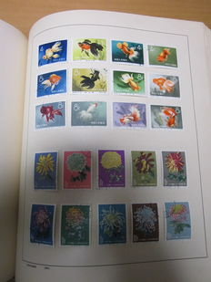 World - Batch in several books and box including China goldfish set