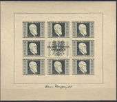 Check out our Austria 1946 - Dr. Karl Renner - The sheetlets of ANK 780 B/783 B