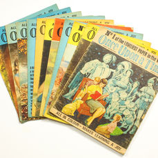 Lawrence, Don -  Once Upon a Time - nummers 1 t/m 12 complete set - sc - (1969)