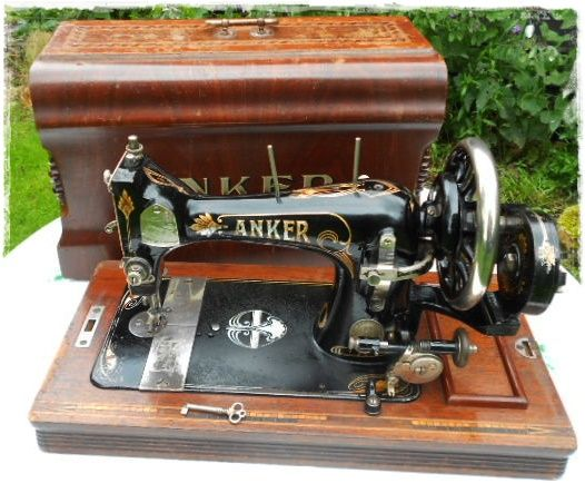 anker sewing machine history