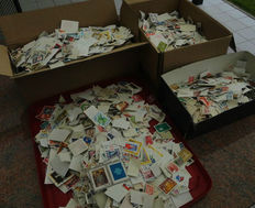 World - Batch of over 35 000 stamps