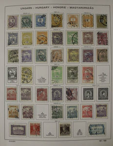Hungary 1956/1982 - Virtually complete collection in Schaubek