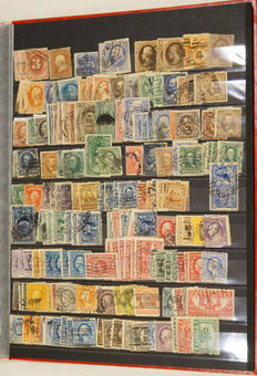 USA - Collection of stamps, postal items and covers