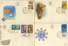 World 1872/2012 - Batch FDCs, covers, postal items and postal stationaries etc