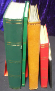 World - Batch in 3 large and 2 small stock books