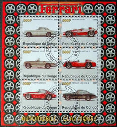 Cars - Topical collection including miniature sheets