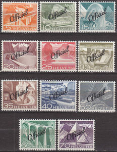 Switzerland - Collection including classic, Pro Jventute, airmail stamps, official stamps